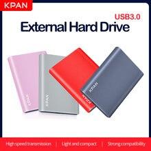 KPAN – disque dur externe Portable USB 2.5 de 120 pouces, avec capacité de 80 go, 160 go, 320 go, 500 go, 3.0 go, 1 to, pour PC, Mac, ordinateur de bureau, PS4, Xbox