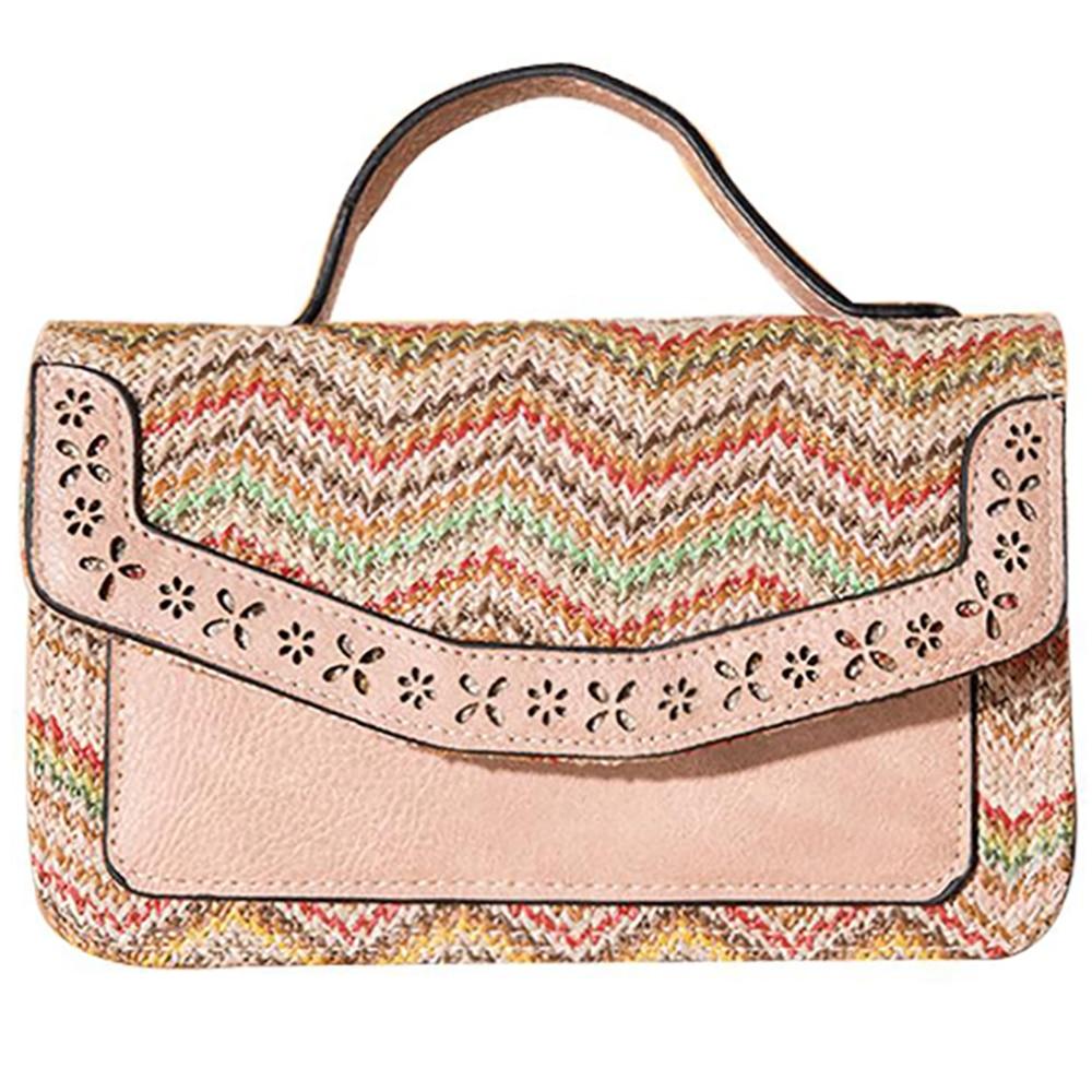 Women's Fashion Straw Handbags Female Brand Design Crossbody Bag ...