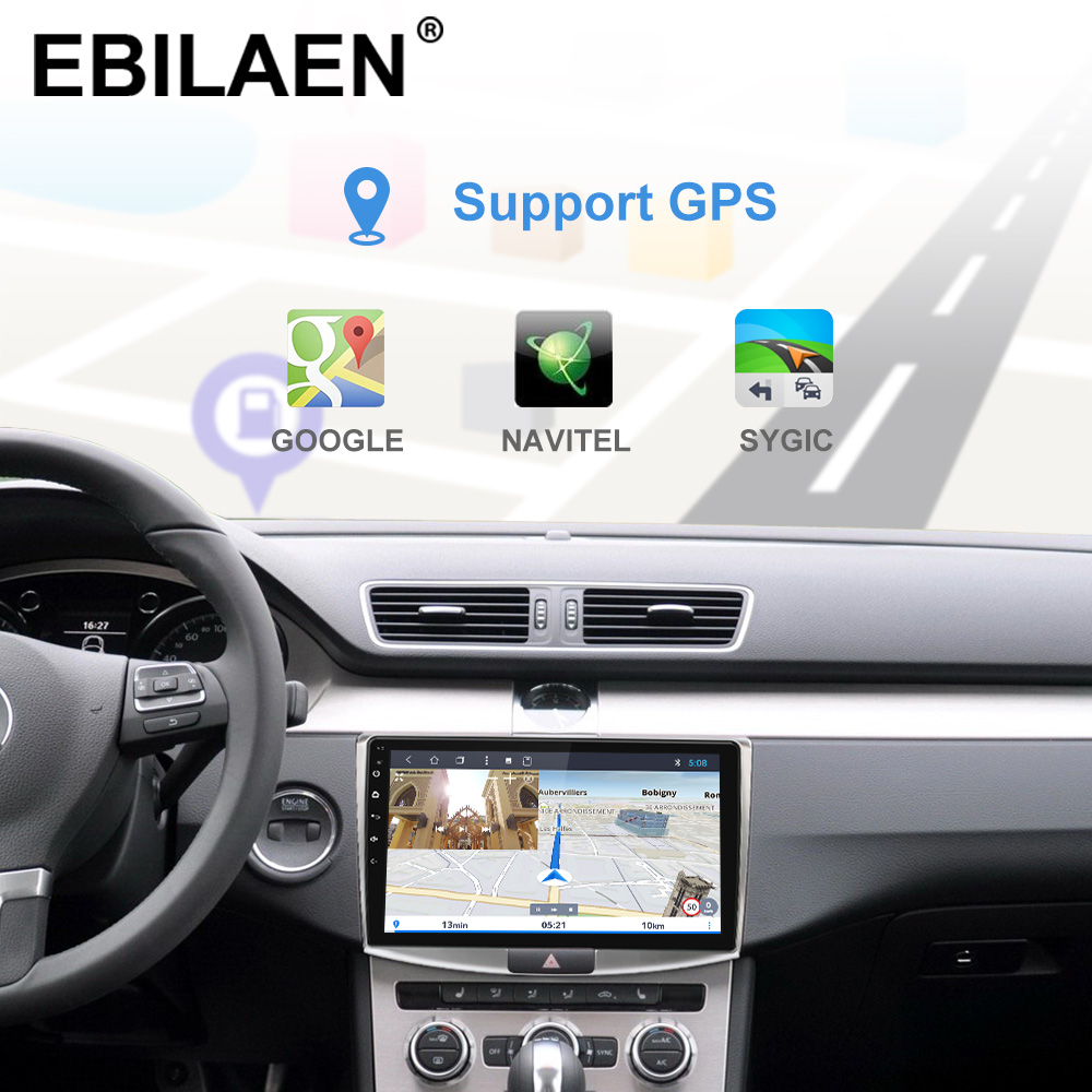 Ebilaen Autoradio Multimedia Speler Voor Vw Volkswagen Passat B7 B6/Magotan 2Din Android 9.0 Autoradio Gps Navigatie Dvr camera - 4