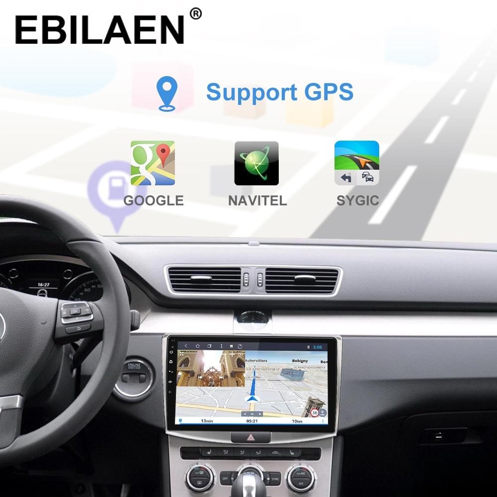 Ebilaen rádio do carro reprodutor multimídia para vw volkswagen passat b7 b6/magotan 2din android 9.0 autoradio gps navegação dvr câmera - 4
