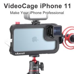Image 1 - Ulanzi金属電話ケージiphone 11 17ミリメートルインタフェースケージvlogビデオケージためulanziレンズ自由度