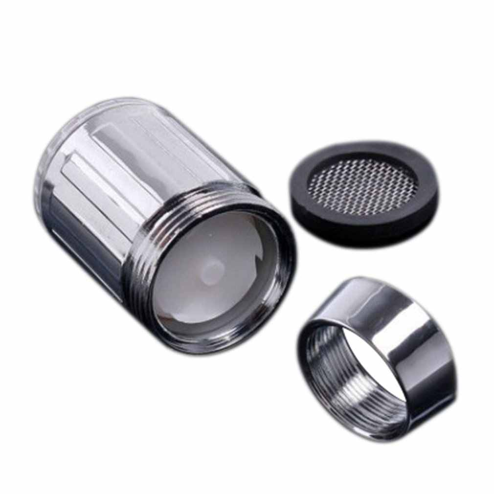 Led 蛇口温度制御/モノクロ発光色の蛇口ランププロのファッション調整雰囲気アダプタ
