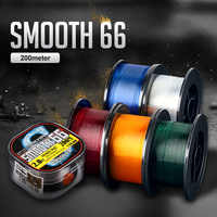 Evercatch smooth66 200m nylon monofilament thread cord goods for fishing line
