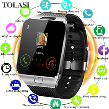 Hot Selling Smart Watch Support 2G Sim & 16G TF Card For Android Phone With Camera Sync Notifier For Samsung Huawei Xiaomi.