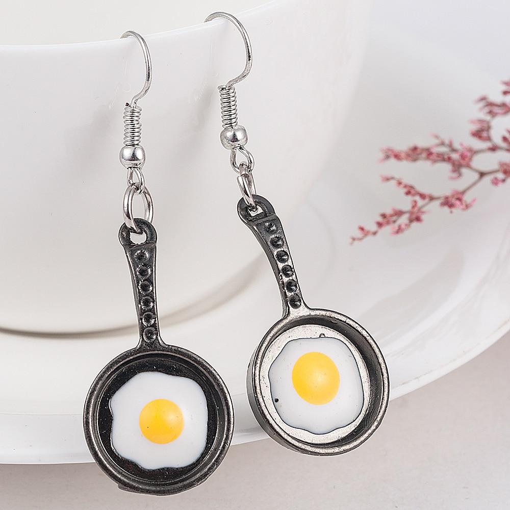 Fried Egg Earrings 3