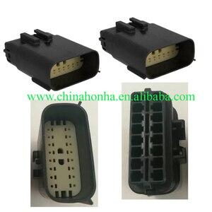 2/5/10 sztuk/partia Molex 16 Pin/Way męskie złącze wtykowe reflektorów z terminalem dla Mondeo Focus Fiesta Edge 33482-1601