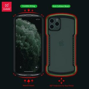 Image 5 - Xundd 보호 케이스 iPhone 11 Pro Max Shookproof 투명 범퍼 매트 케이스 에어백 통기성 벤트 게임 케이스 포함