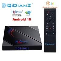 H96 Max H616 Dispositivo de TV inteligente Android 10 4GB RAM 64GB 1080p 4K BT GooglePlay tienda Youtube H96Max Set de reproductor multimedia top Box