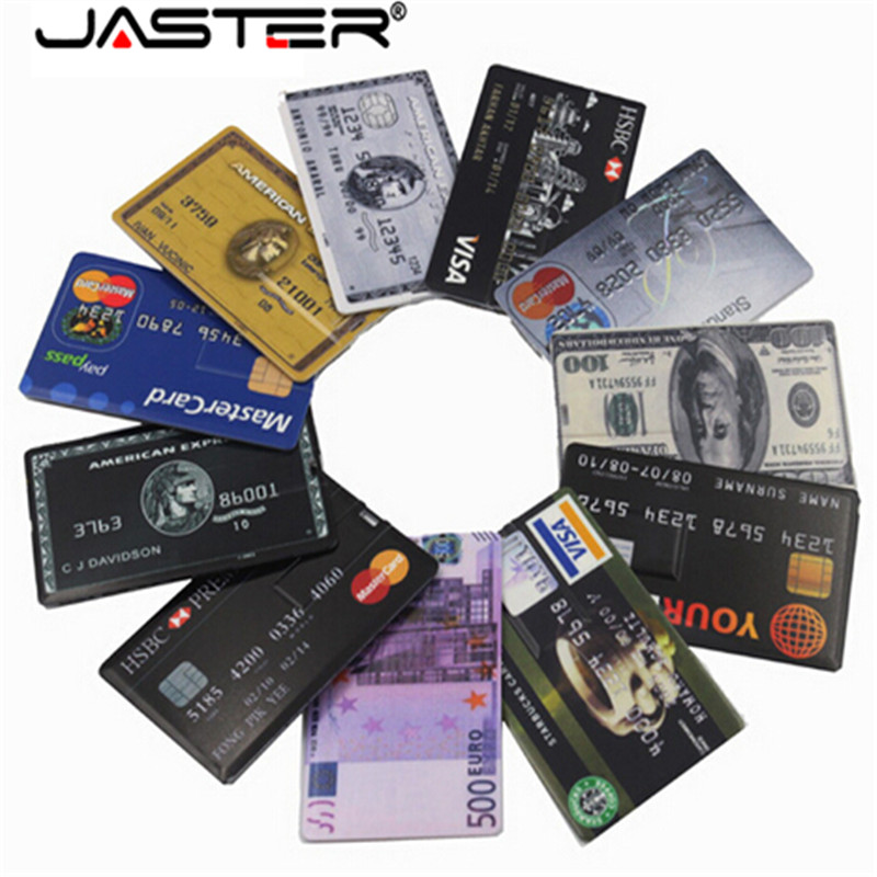 Real Capacity 2020 New Waterproof Super Slim Credit Card USB Flash Drive 32GB Pen Drive 4G 8G 16G Bank Card Model Memory Stick