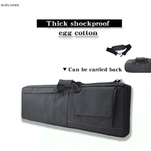 Shockproof Rifle Gun Bag Outdoor Hunting Gear Airsoft Sport Rifle Carry Case Tactical Rifle Backpack 100cm / 85cm outdoor hunting rifle backpack airsoft tactical gun rifle bag nylon heavy duty rifle case with protection cushion 85cm 100cm