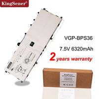 Kingsener VGP BPS36 Laptop Battery For Sony for Vaio Duo 13 Convertible Touch 13.3 SVD13211CG SVD132A14W SVD1321M2EW 7.5V 48Wh
