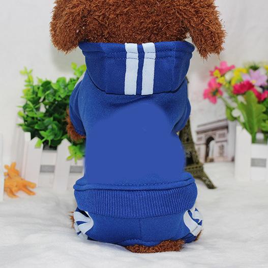 PUOUPUOU Winter Warm Pet Dog Clothes Hoodies Sweatshirt for Small Medium Dogs French Bulldog Sweet Puppy Dog Clothing XS-XXL 17