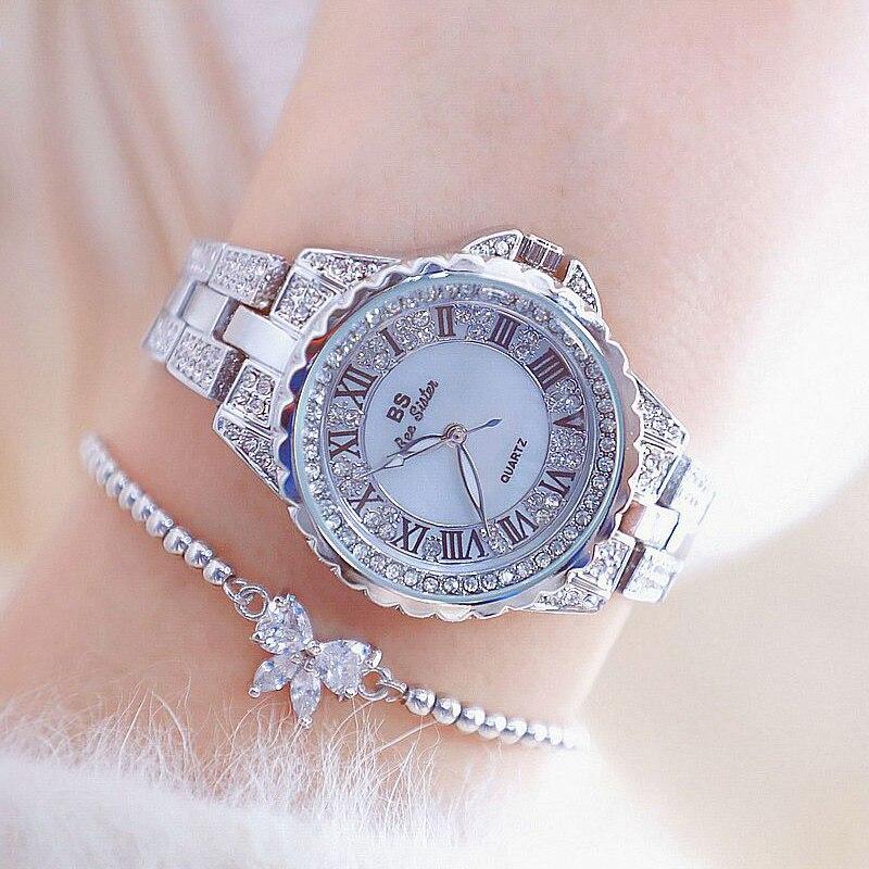 2019 BS Top Brand Luxury Women Watches Waterproof Fashion Ladies Watch Woman Quartz Wrist Watch Relogio Feminino Montre Femme