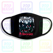 Mouth-Mask Slipknot Metal-Band Face Anti-Pollution Reusable Cotton Gone Heavy Is All-Hope