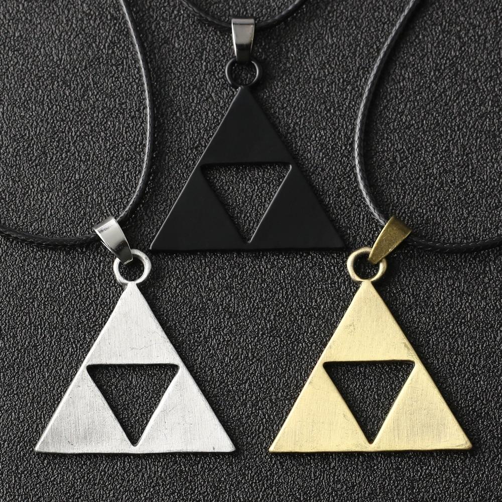 Женское ожерелье с подвеской в виде треугольника Троицы