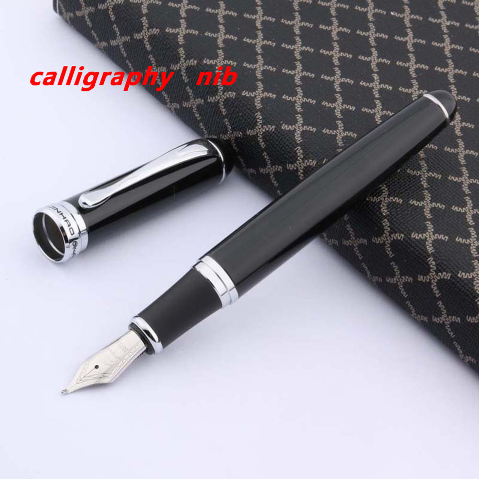 75 Black Special Edition Fine Fountain Pen with Black Trim Jinhao No