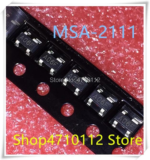 NEW 10PCS/LOT MSA-2111-TR1G MSA-2111 MSA2111 SOT-143 RF Amplifier 4.3 SV 16.5 DB IC