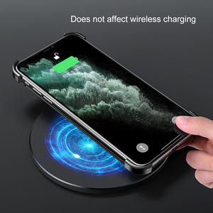 Image 5 - Funda de teléfono con marco de Metal para iPhone 11 11 pro, carcasa magnética para teléfono iPhone 11 pro max