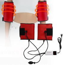 Электрический инфракрасный обогрев массаж вибрационный, для похудения плечевой ремень Фитнес упражнения CN Plug 220V с адаптером терапия массажер