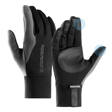Winter Warm Skiing Gloves Rainproof Touchscreen Windproof Sports with Lining For Camping Cycling
