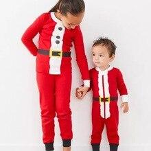 Underwear Long-Johns Cotton Pajamas Home-Service-Suit Santa-Claus Autumn Children's New