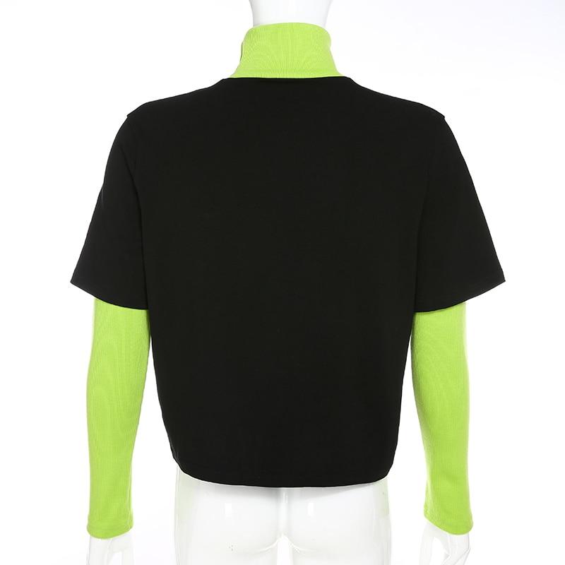 Fake 2 Pieces Sweatshirt (4)