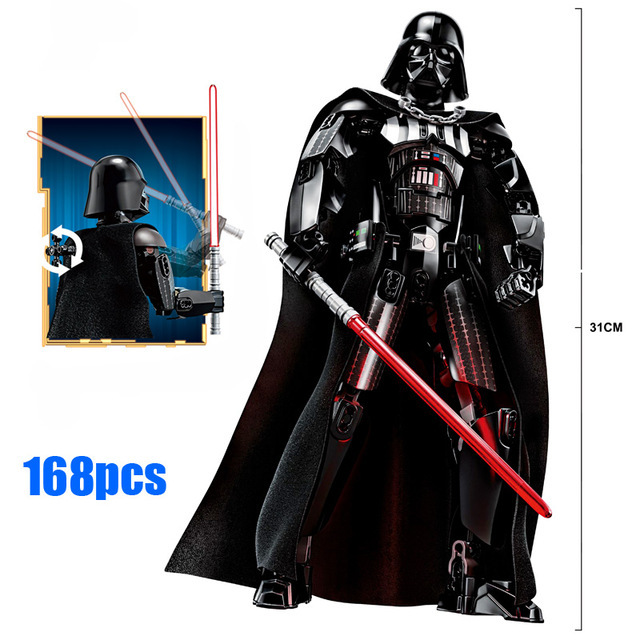 Blocks Star Wars Buildable Action Figure 4