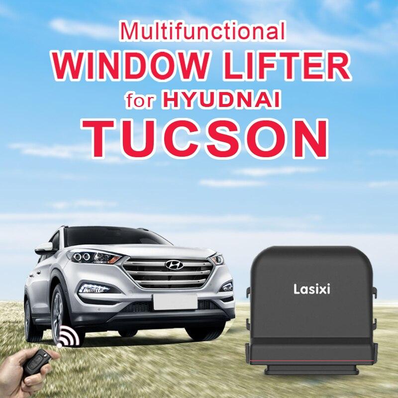 Zdalnie sterowanym samochodowym automatyczne zamknięcie do okna zamykania i otwarte dla HYUDNAI Tucson 2019 okno samochodu zawijane bliżej 2018 2017 2015 2009