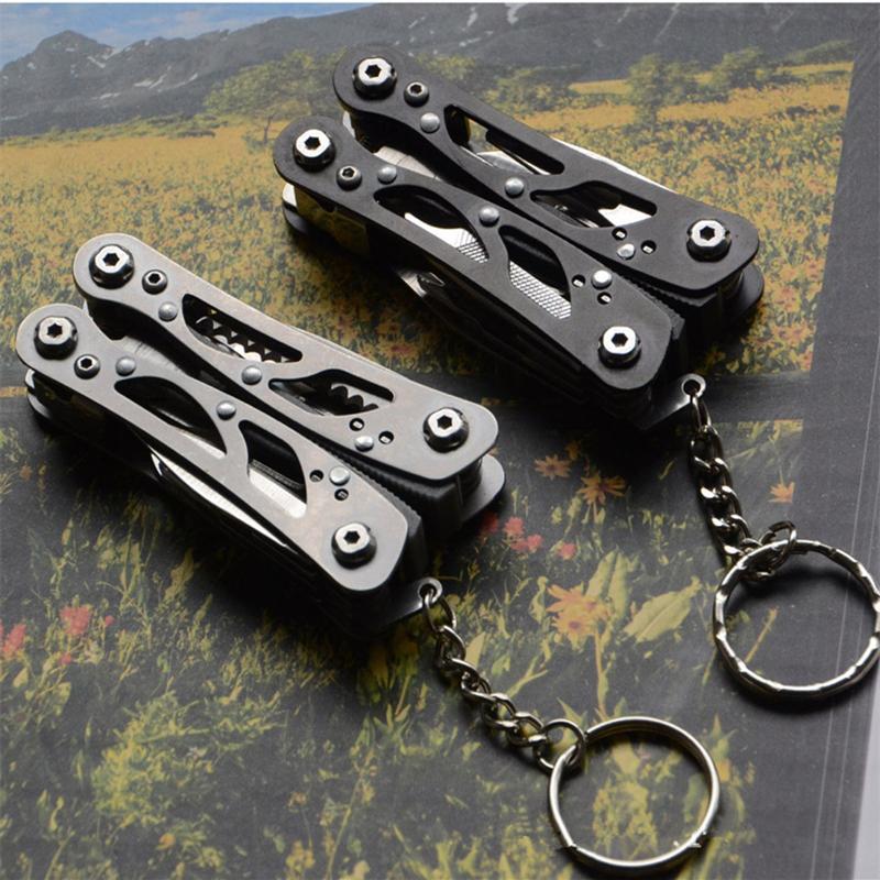 EDC Tool Outdoor Camping Survival Tools Multitool Tactical Pliers Versatile Repair Folding Screwdriver Military Steel Gear
