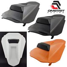 Qmstart racing pillion traseiro capa de assento do passageiro carenagem cowl para ktm duke790 duke 790 l 790l 2018 2019 2020 2021 #64107955044