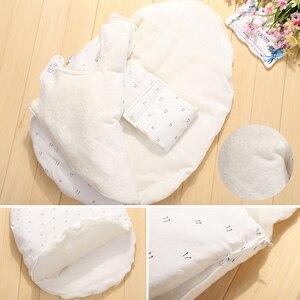 Image 5 - AAG תינוק שק שינה ביצת Cocoon יילוד Sleepsacks רוכסן שינה לעטוף עבור עגלת תרדמת תינוק שקיות מצעים אביזרי *
