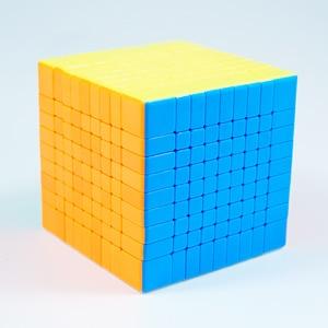 Image 5 - Originele Moyu MF9 9X9X9 Cube Magic Mofangjiaoshi Cube Meilong 9 Lagen 9X9 Speed Puzzel blokjes Vorm Twist Educatief Speelgoed