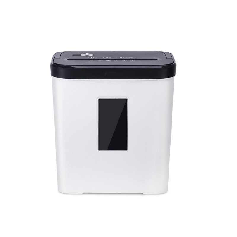 12L Level 4 Confidential Paper Shredder Mini Office Household Granular Paper Document Shredder can continuously shred 5 sheets