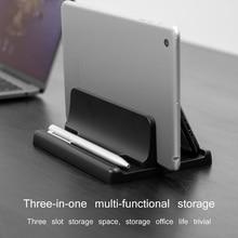 Multifunctional Bracket Bookshelf Vertical Storage Stand For Laptop Notebook Holder Support