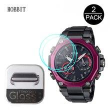 2PCS 9H 2.5D HD Clear Tempered Glass For Casio G SHOCK MTG B2000B MTG B2000D MTG B2000BD Smart Watch Film Anti Scratch Glass