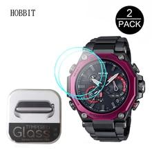 2PCS 9H 2.5D HD Clear Tempered Glass For Casio G-SHOCK MTG-B2000B MTG-B2000D MTG-B2000BD Smart Watch Film Anti-Scratch Glass