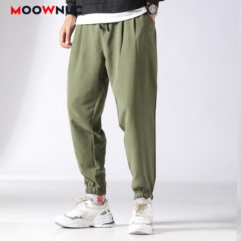 Pantalones Harem Hombre Tobillo Longitud 2020 Nuevo Hombre Moda Streetwear De Los Hombres Pantalones Casual Joggers De Hip Hop Suelto Ribete Moownuc Pantalones Informales Aliexpress
