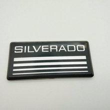 1X New Silverado 1500 2500 3500 emblem badge pillar for Chevy 1988 89 90 91 92 93 94  Car Styling