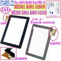 AAA + Touchscreen Digitizer Für ASUS MeMO Pad FHD 10 ME301 K001 5280N ME302 ME302C ME302KL K00A K005 5425N FPC 1-in Tablett-LCDs und -Paneele aus Computer und Büro bei