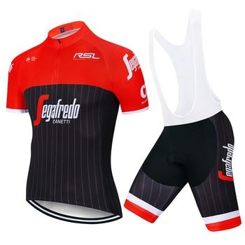 UCI Team 2020 verde TREKKING ciclismo jersey ciclismo pantalones cortos traje MTB...