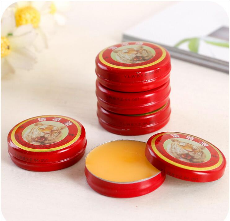 1/2/5/10pcs Massage Red Muscle Rub Aches Cool Cream Chinese Tiger Balm Essential Oil For Adults Pain Relief Ointment