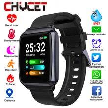 2019 חכם שעון גברים נשים מגע צבע מסך דם לחץ Smartwatch נשים לב קצב פעילות Tracker שעון עבור אנדרואיד IOS