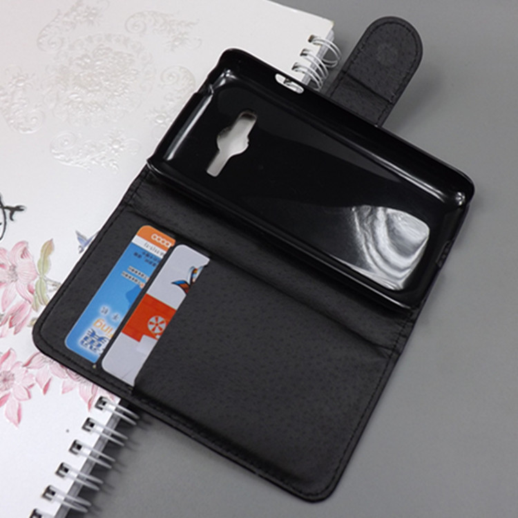 Crystal grain wallet case hold two Cards and pouch slot for <font><b>samsung</b></font> <font><b>galaxy</b></font> trend 2 lite g318 <font><b>sm</b></font>-<font><b>g318h</b></font> /<font><b>ace</b></font> <font><b>4</b></font> <font><b>neo</b></font> dous <font><b>g318h</b></font> image
