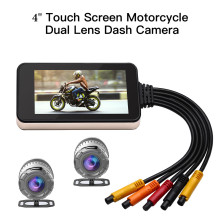 Blueskysea MT23 Motorcycle WiFi HD Camera Touch Screen Moto GPS 140° Dash Cam1080P DVR Waterproof Night Vision Black Box