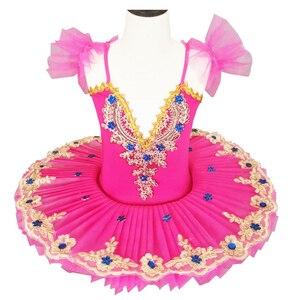 Czerwony wzór baletowy, profesjonalny wzór chłopięcy i dziewczęcy, wzór baletowy dla kobiet, spódnica baletowa dla chłopców, suknia balowa dla dzieci
