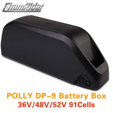 Case Battery 10S 52V 14S 18650 48V 13S Housing DP-9 36V 9P 7P 6P 91 Box Cells Down-Tube
