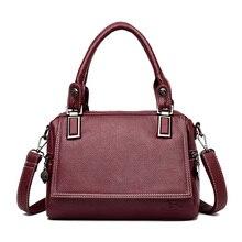 Vintage Women Bags 2019 Luxury Handbags Women Messenger Bags Designer Brand Famous Crossbody Bags For Women Black Tote Bolsos