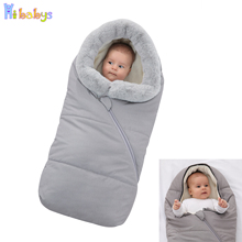 Baby Stroller Sleeping Bag Winter Warm Envelopes For Newborn Thicken Stroller Sleepsacks Infant Windproof Envelopes Sleep Sack