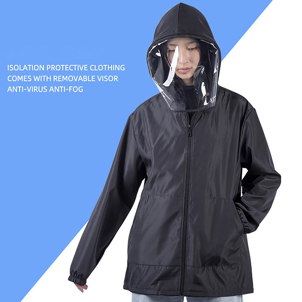 Anti-fog Hat Anti-UV Sun-proof  Clothing Removable Hat Protective Clothing Isolating Clothes