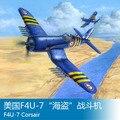 """TRUMPETER hobbyboss 80392 1: 48 Weltkrieg II Amerika F4U 7 """"Pirate"""" Kämpfer Flugzeug Montiert Modell-in RC-Flugzeuge aus Spielzeug und Hobbys bei"""